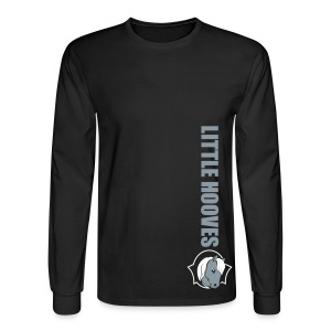 Silver Little Hooves Alt LS - Men's Long Sleeve T-Shirt