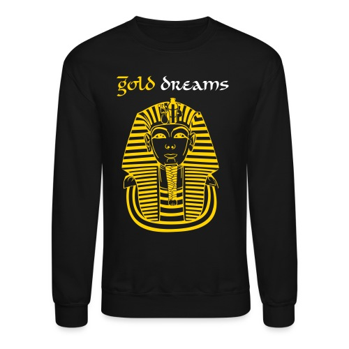 Gold Dreams Crewneck - Crewneck Sweatshirt