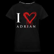 Women's T-Shirts ~ Women's V-Neck T-Shirt ~ I hear Adrian