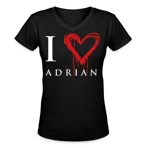 I hear Adrian - Women's V-Neck T-Shirt