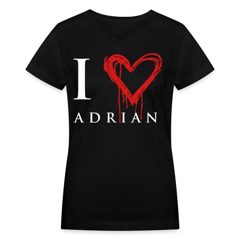 I hear Adrian - Women's V-Neck T-Shirt