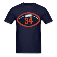 T-Shirts ~ Men's T-Shirt ~ Walter Payton Patch