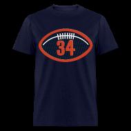 T-Shirts ~ Men's T-Shirt ~ Walter Payton Patch