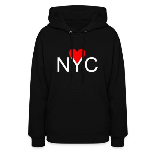 NYC Heart Hoodie| Womens - Women's Hoodie