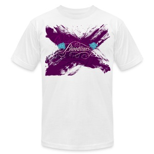 Bloodlines - Men's T-Shirt by American Apparel