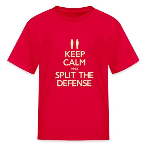 Split the Defense Youth Tee (Fundraising Item) - Kids' T-Shirt