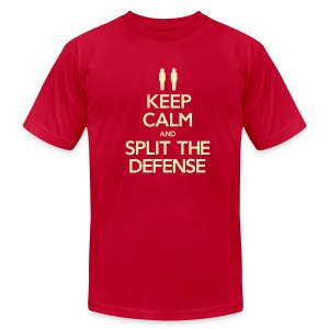 Split the Defense Men's Tee (Fundraising Item) - Men's Fine Jersey T-Shirt