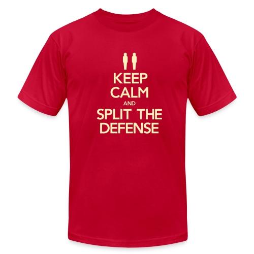 Split the Defense Men's Tee (Fundraising Item) - Men's  Jersey T-Shirt