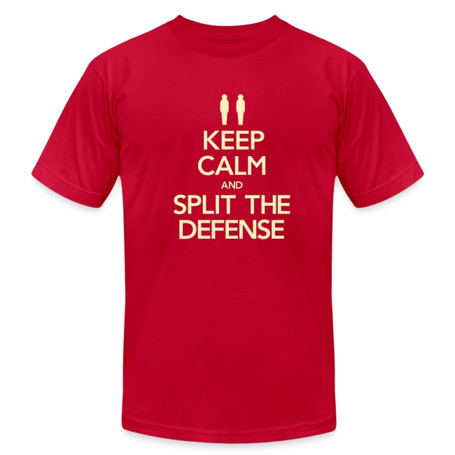 Split the Defense Men's Tee (Fundraising Item)