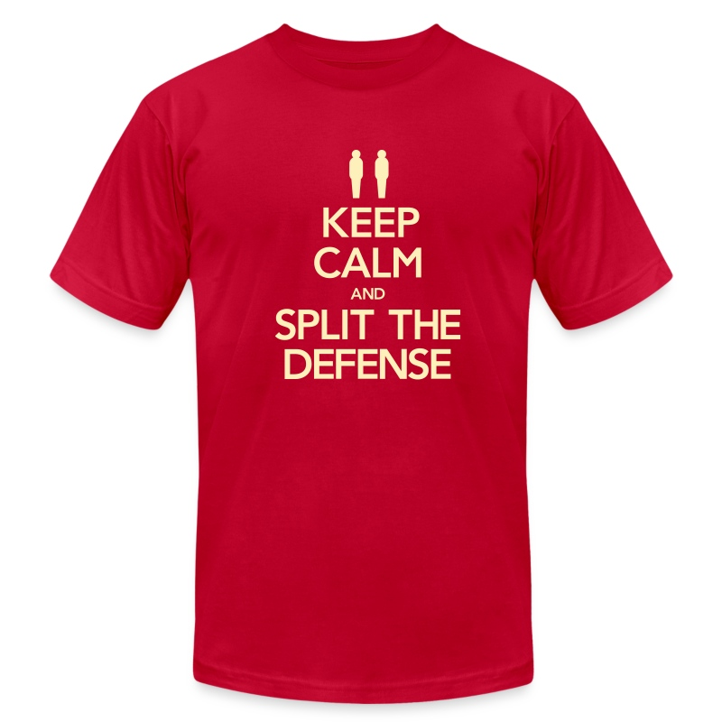 Split the Defense Men's Tee (Fundraising Item) - Men's T-Shirt by American Apparel