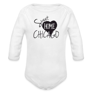 Sweet Home Chicago - Long Sleeve Baby Bodysuit