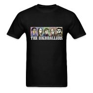T-Shirts ~ Men's T-Shirt ~ The Highballers King of the Plains Cool Black T-Shirt (Mens)