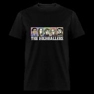 T-Shirts ~ Men's T-Shirt ~ The Highballers King of the Plains Cool Black T-Shirt (Mens)