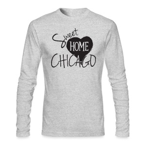 Sweet Home Chicago - Men's Long Sleeve T-Shirt by Next Level