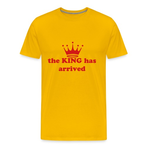 tee for a KING - Men's Premium T-Shirt