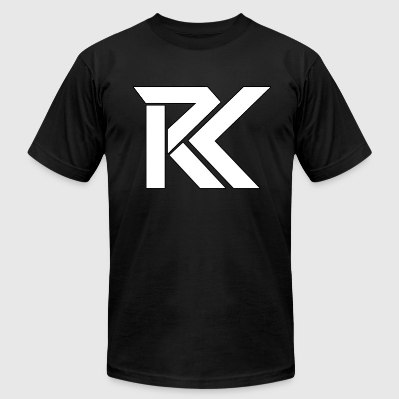 rK Logo T-Shirts - Men's T-Shirt by American Apparel