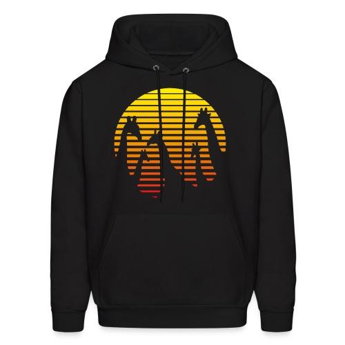 giraffe hoodie - Men's Hoodie