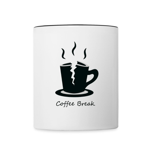 Coffee Break Mug - Contrast Coffee Mug