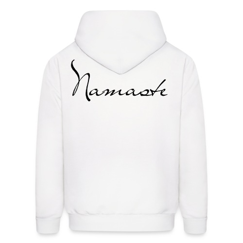 Namaste front/back design - Men's Hoodie