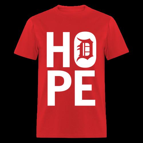 HOPE IN DETROIT - Men's T-Shirt