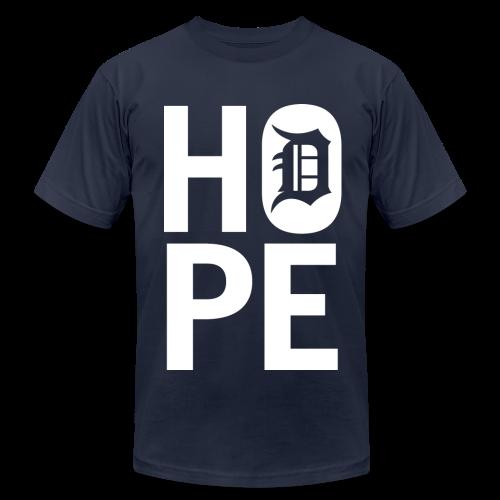 HOPE IN DETROIT - Men's  Jersey T-Shirt