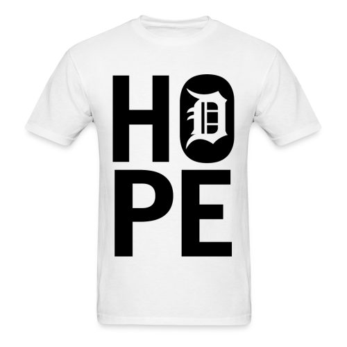 HOPE IN DETROIT1 - Men's T-Shirt