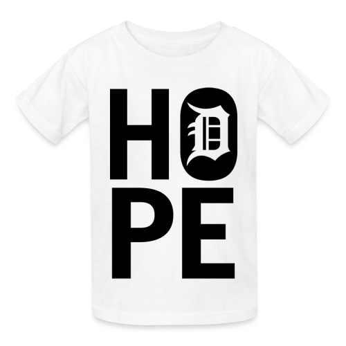 HOPE IN DETROIT1 - Kids' T-Shirt