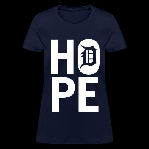 HOPE IN DETROIT - Women's T-Shirt