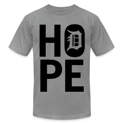 HOPE IN DETROIT1 - Men's  Jersey T-Shirt