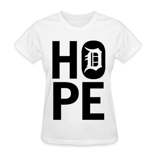 HOPE IN DETROIT1 - Women's T-Shirt
