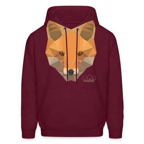 Mens Fox Hoodie - Men's Hoodie