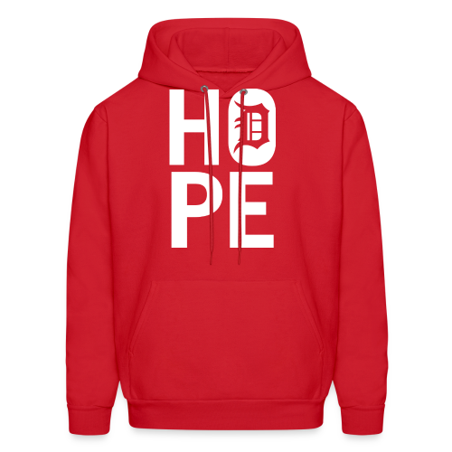 HOPE IN DETROIT - Men's Hoodie