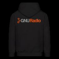Hoodies ~ Men's Hoodie ~ The GNU Radio Hoodie (Black)
