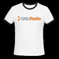 T-Shirts ~ Men's Ringer T-Shirt ~ GNU Radio Retro T-Shirt