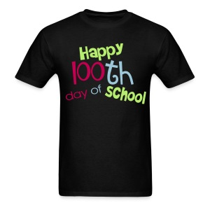 Happy 100th day- Men - Men's T-Shirt