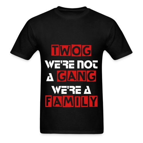 Family Not A Gang - Men's T-Shirt