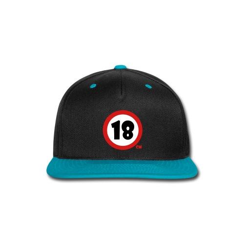 18 Baseball Cap - Snap-back Baseball Cap
