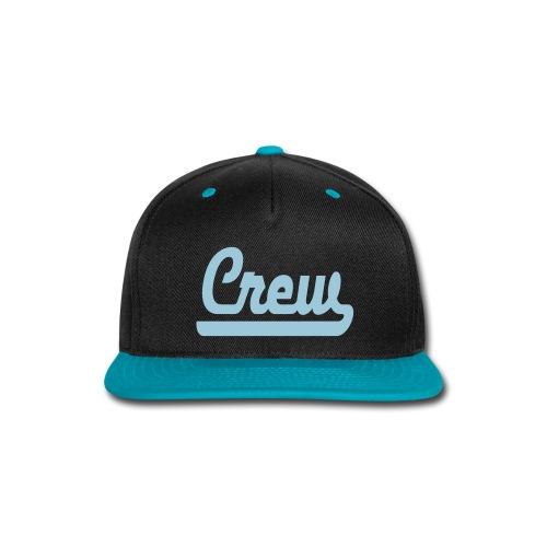 Crew Baseball Cap - Snap-back Baseball Cap