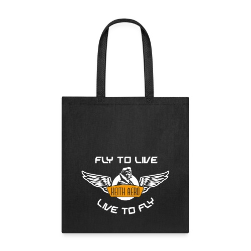 Keith Aero Live to Fly Tote - Tote Bag