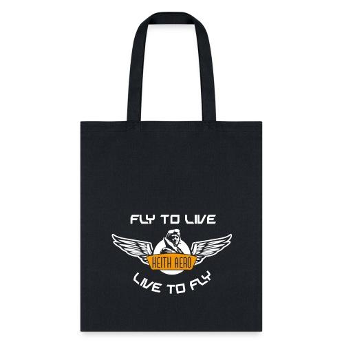 Keith Aero Live to Fly Tote - Tote Bag