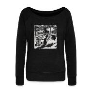 Long Sleeve Shirts ~ Women's Wideneck Sweatshirt ~ Polar Vortex 2014