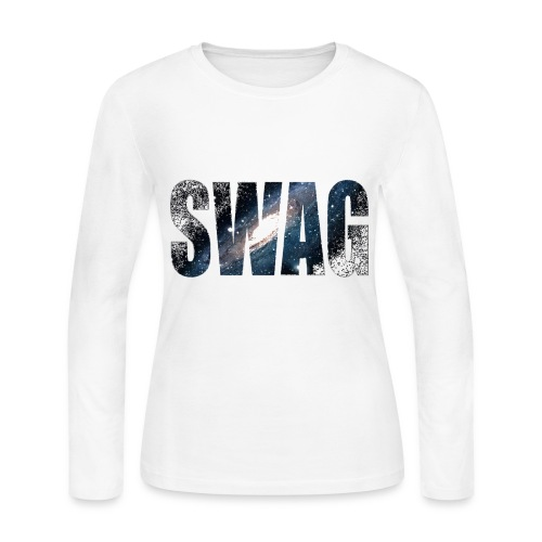 swag shirt women's - Women's Long Sleeve Jersey T-Shirt