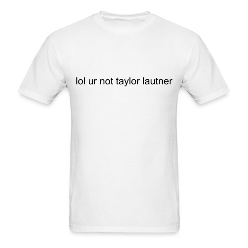 Taylor Lautner - Men's T-Shirt