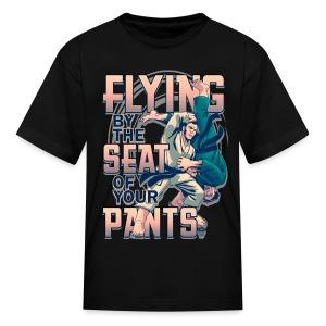 Flying Judo Kata Guruma - Kids' T-Shirt