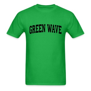 GREEN WAVE - Men's T-Shirt