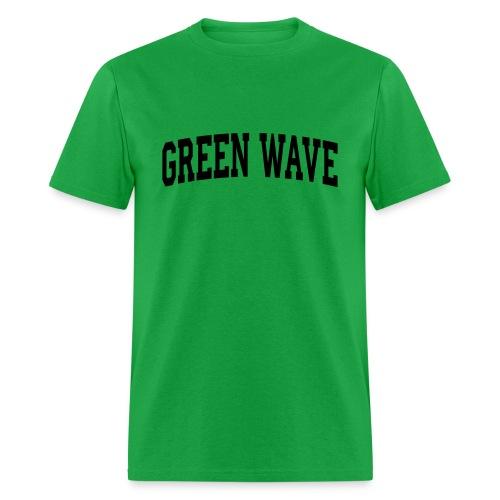 GREEN WAVE - Men's T-Shirt