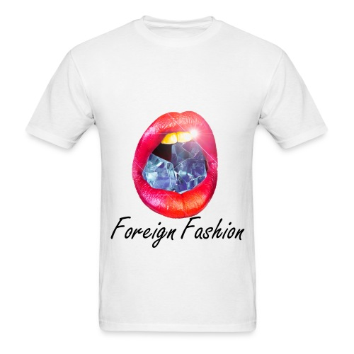 Diamond Mouth Foreign Fashion T-Shirt - Men's T-Shirt