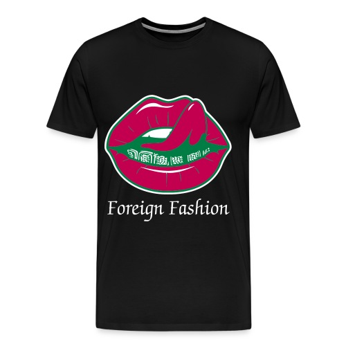 Grillz Foreign Fashion T-Shirt - Men's Premium T-Shirt