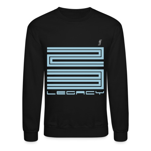 Air Jordan 11 and 12 Gamma Blue 23 Legacy Foreign Fashion Crewneck - Crewneck Sweatshirt