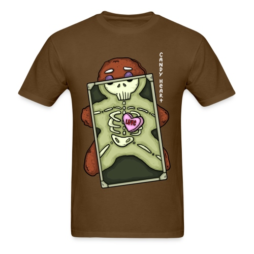 Candy Heart - Xray (Food Reviews) - Men's T-Shirt